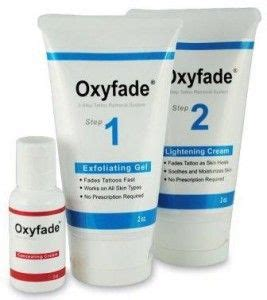 tattoo removal aftercare cream oxyfade kit removal removal