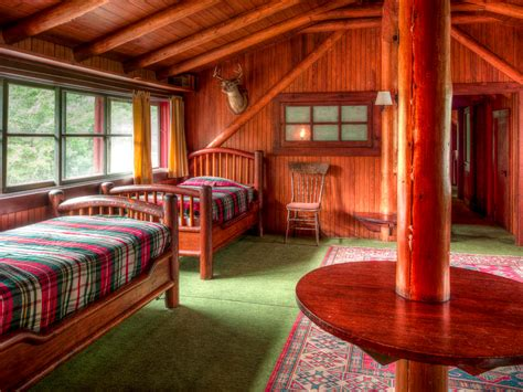 Ideas For Little Girls Bedrooms j p morgan s 120 year old great camp uncas in the