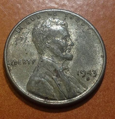 50 most valuable wheat pennies 1943 lincoln wheat s au 50 at s collectible coins store