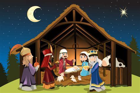 nacimiento de jesus imagenes grandes navidad foto fosforito