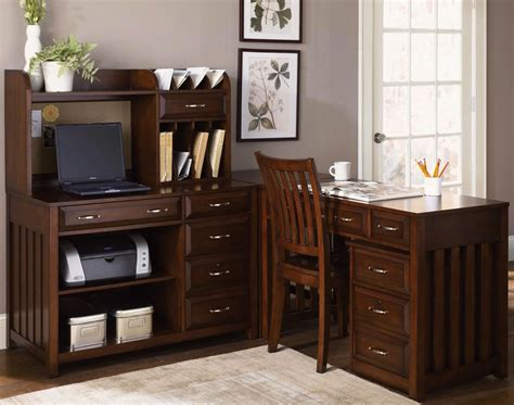 cherry desks for home office hton bay cherry finish l shaped home office desk