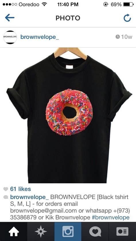 Kaos T Shirt Donut Sweety pink doughnut donut t shirt joke gift present