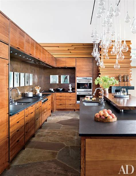 mountain home kitchen design modern mountain homes via architectural digest