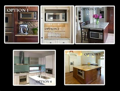 where to put your microwave kitchen