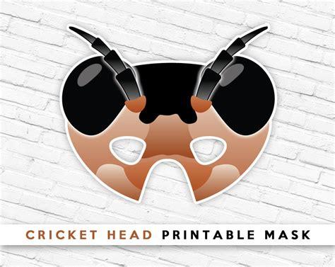 printable grasshopper mask cricket head mask bug head mask grasshopper mask summer