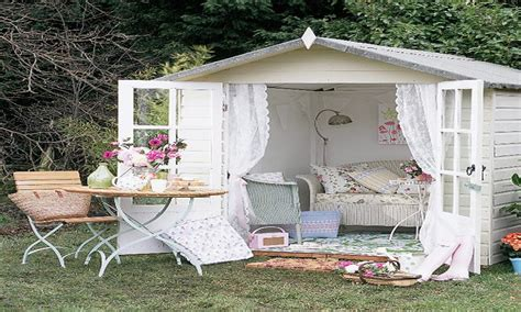 ideas for bedroom colour schemes shabby chic garden sheds