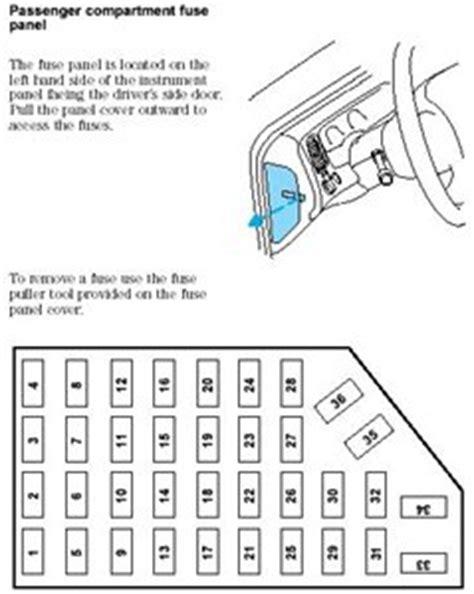 2000 mercury mountaineer fuse box diagram solved no manual for a 97 mercury mountaineer fixya
