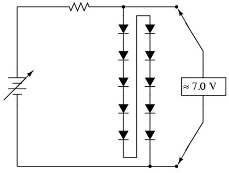 diodes in series zener diodes in series