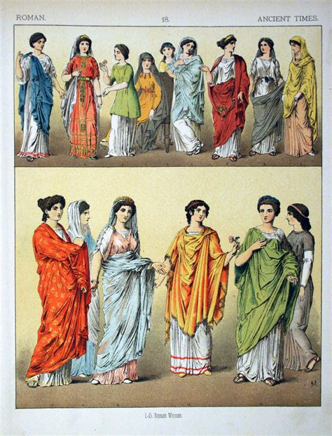 ancient greek costume history pictures showing how to recreate a file ancient times roman 018 costumes of all nations