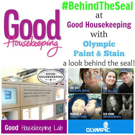 the seal at housekeeping with olympic paint