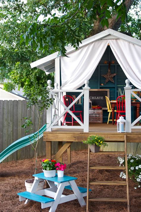 10 diy outdoor playsets tag tibby