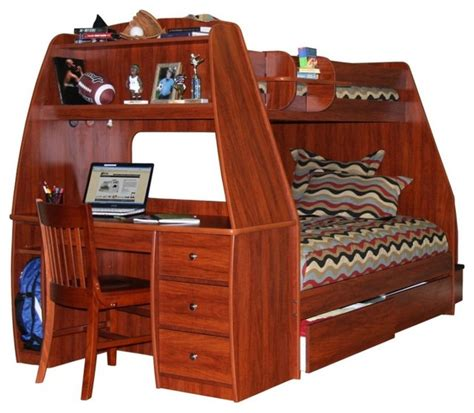 enterprise bunk bed with storage drawers