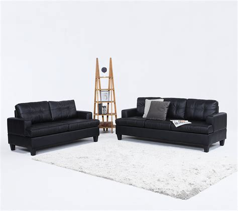 bonded leather sofa reviews modern black bonded leather sofas review