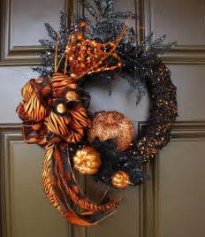 Halloween Wreath 40 Cool Halloween Wreaths For Any Space Digsdigs