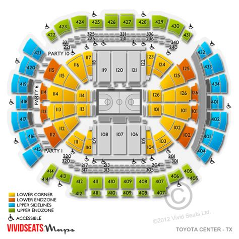 houston rockets seating chart toyota center toyota center tickets toyota center ticket info
