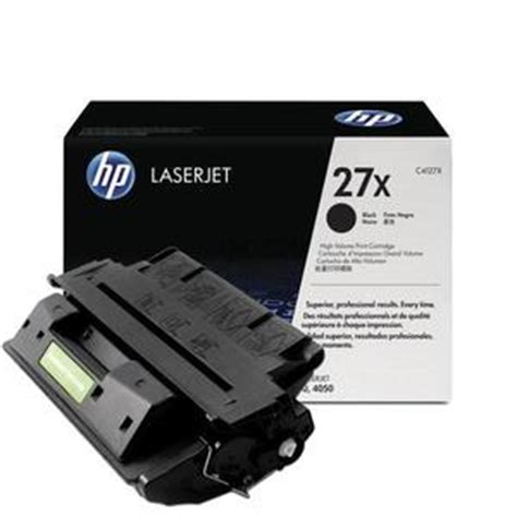 Tinta Hp 27 Black Original Exp toner hp laserjet 27x c4127x black original
