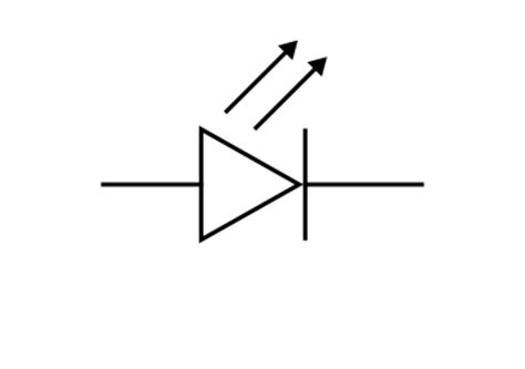diode sign led light emitting diode symbol led wiring diagram and circuit schematic