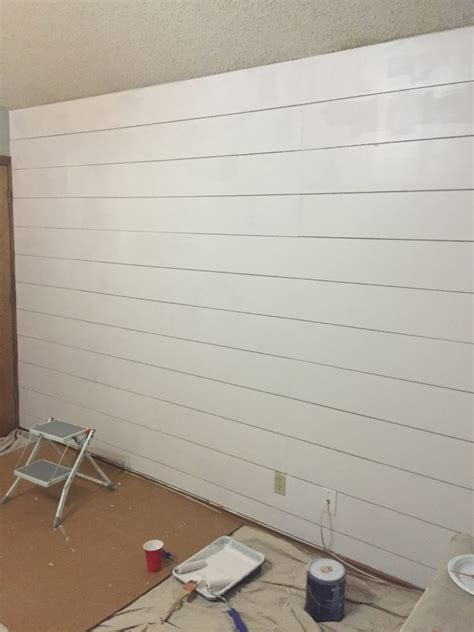 Shiplap Wall Pictures Diy Faux Shiplap Walls Junque Cottage