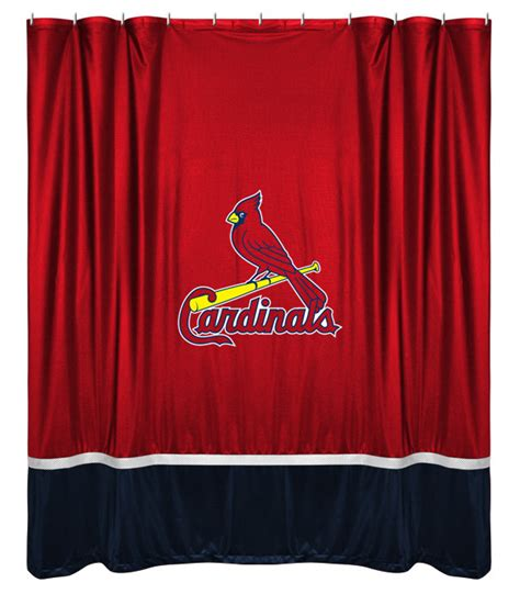 Curtains St Louis St Louis Cardinals Shower Curtain