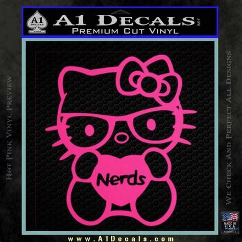 Walpaper Sticker Dinding Pink Hello 1 hello nerds decal sticker 187 a1 decals