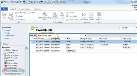 Microsoft Dynamics Crm 2011 And Mobility Powerobjects | auditing with microsoft dynamics crm 2011 powerobjects