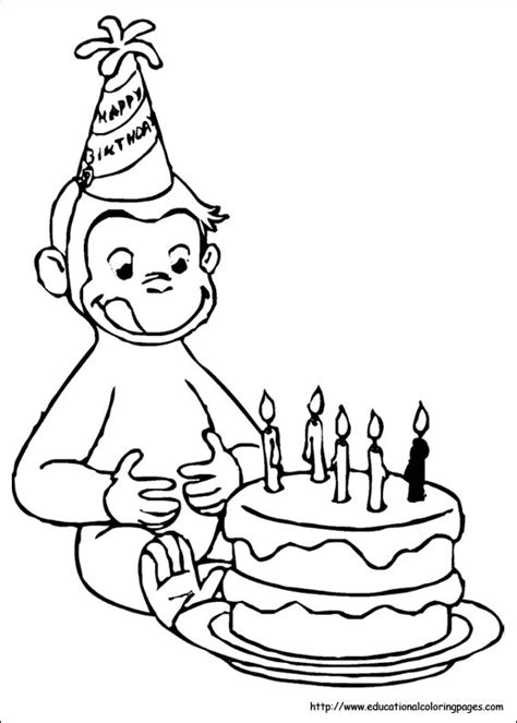 curious george coloring page curious george coloring pages