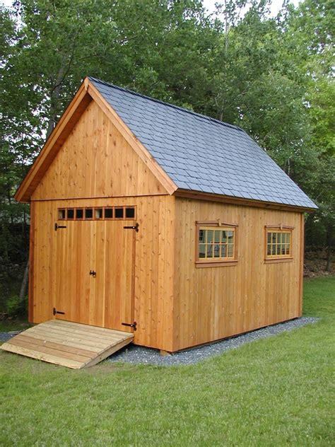 cedar shed  mower fine homebuilding