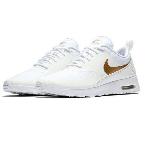nike air max thea damen sneaker whitegold fun sport vision