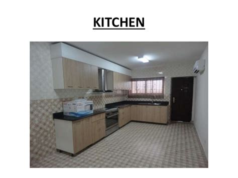 Kitchen With Pantry Design Palm Springs Estate Lagos Nigeria 4 Bed Room Houses