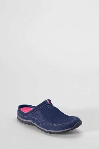 lands end shoes lands end s everyday slip on mule shoes shopstyle