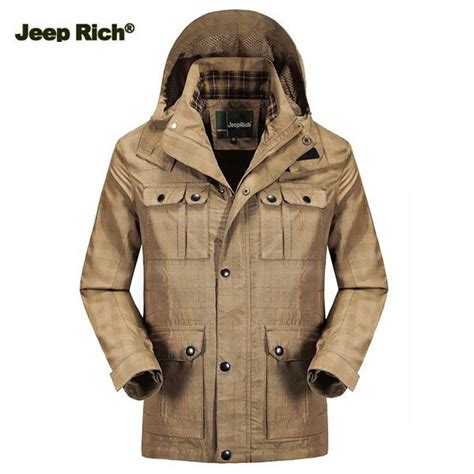 jeep rich jacket jeep rich mens outdoor hiking waterproof jacket detachable