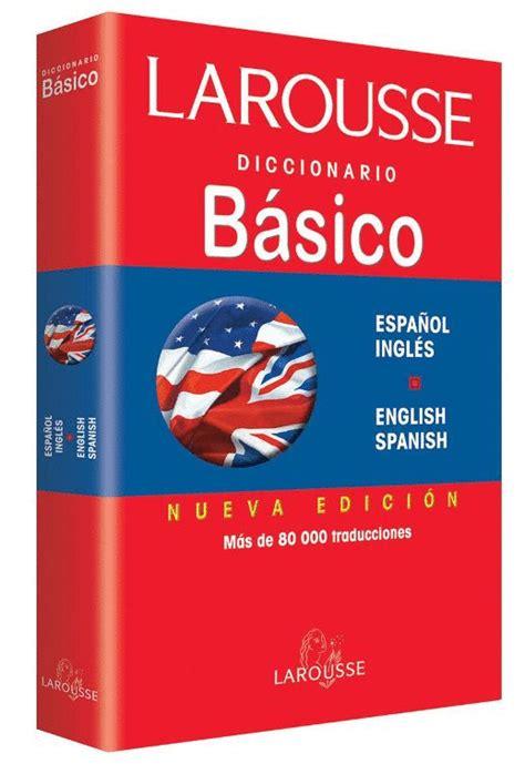 libro sonario o diccionario de diccionario b 225 sico ingl 233 s espa 241 ol el p 233 ndulo