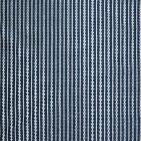 Faux Leather Upholstery Material Indigo Blue And White Stripe Woven Upholstery Fabric