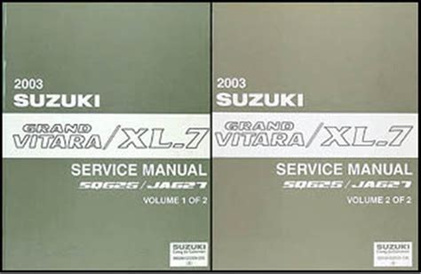 how to download repair manuals 2003 suzuki grand vitara electronic toll collection search