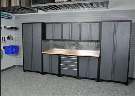 Adjustable shelves metal garage storage cabinets   Home Interiors