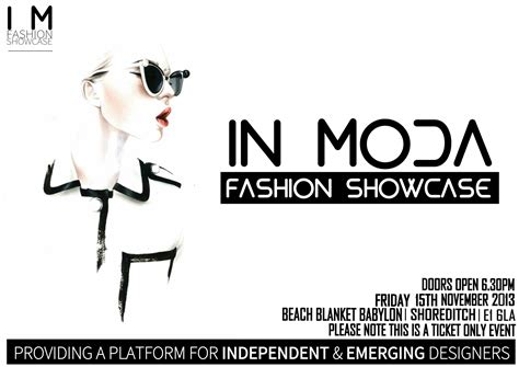 Win Tickets To The Fashion Event Of The Year by Win Tickets To The In Moda Fashion Showlondon