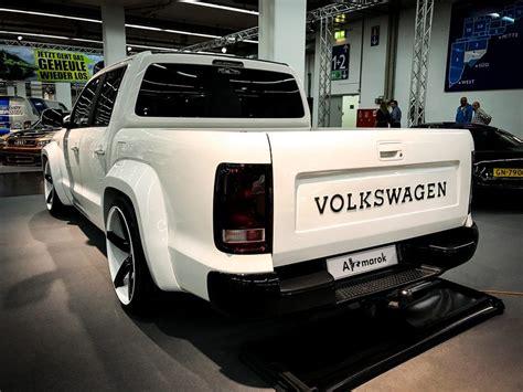 Amarok V6 Tieferlegung by Volkswagen Amarok Tuning Highlights Essen Motorshow 2016 2