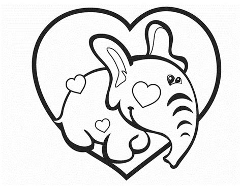 elephant valentine coloring page 25 best cupid s not stupid wedding ideas images on