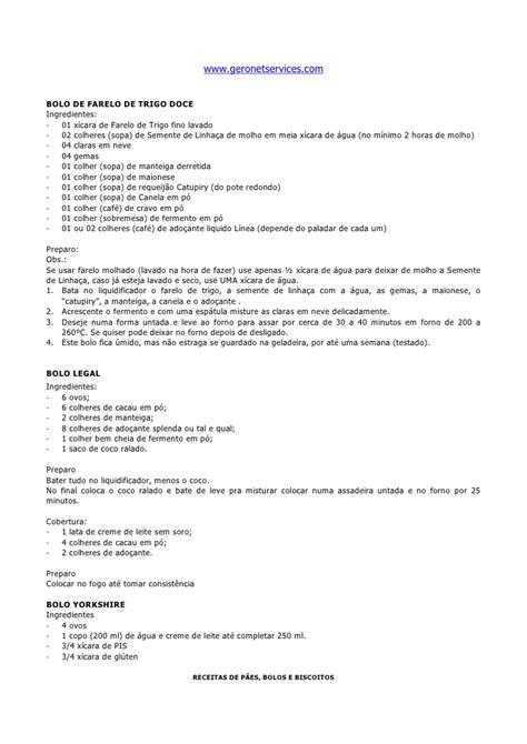 Livro De Receitas Manual PãEs 05