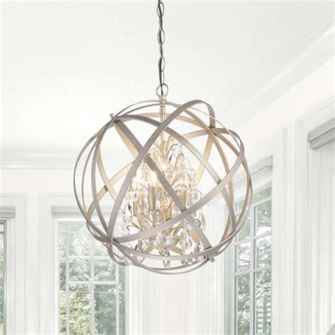 benita 5 light antique bronze metal globe chandelier 35 photo of 3 light metal and chandelier