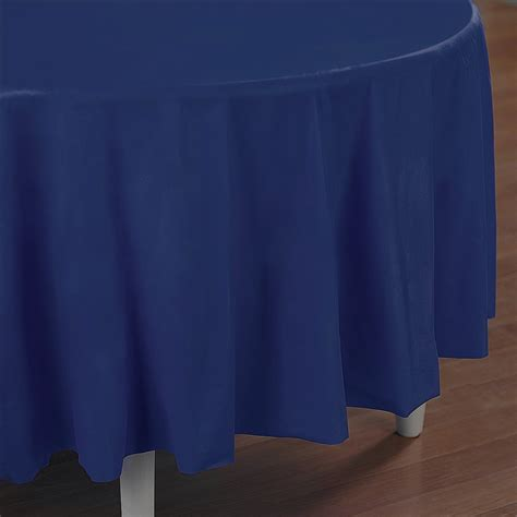 navy blue table covers navy blue plastic table cover