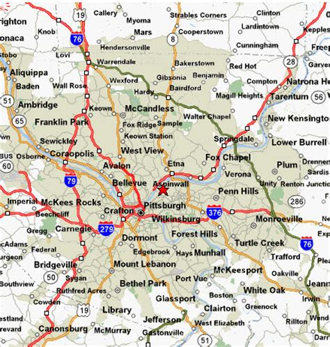 western pa map map of western pennsylvania bnhspine