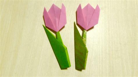 Origami L - comment faire tulipe origami l de plier le papier