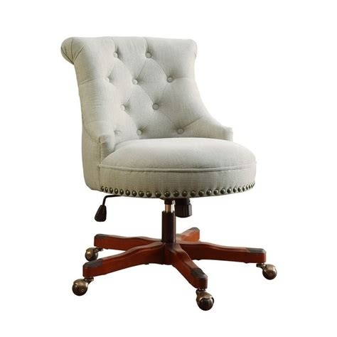 Armless Office Chairs Design Ideas Armless Upholstered Office Chair In Walnut 178403nat01u