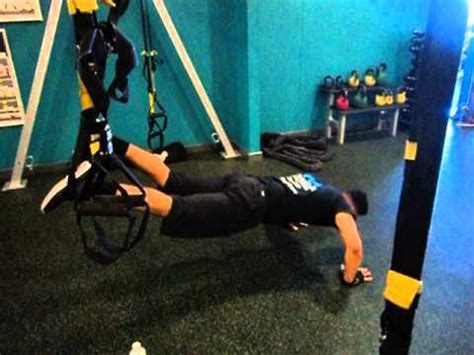 trx bench press trx chest exercise