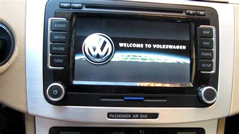 Golf 5 Auto Unlock by Volkswagen Passat Rns510 Video In Motion Unlock Youtube