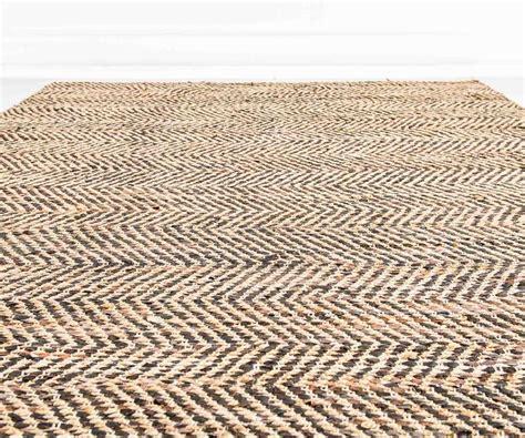 tappeto juta tappeto juta e pelle marrone 180 x 230 cm duzzle