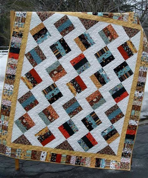jelly roll quilt patterns for beginners jelly brique