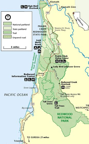 cing info trails and maps redwood national park