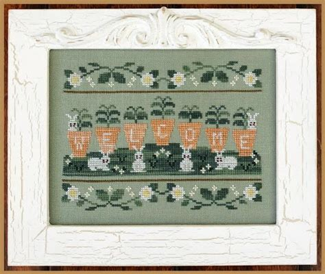 country cottage cross stitch country cottage needleworks welcome spring cross stitch